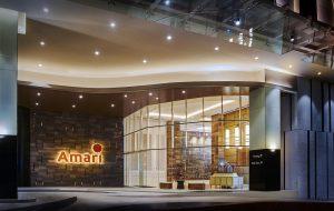 Hotel Amari Lobby & Exterior