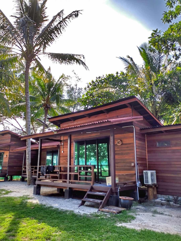 Pulau Kapas accomodation exterior