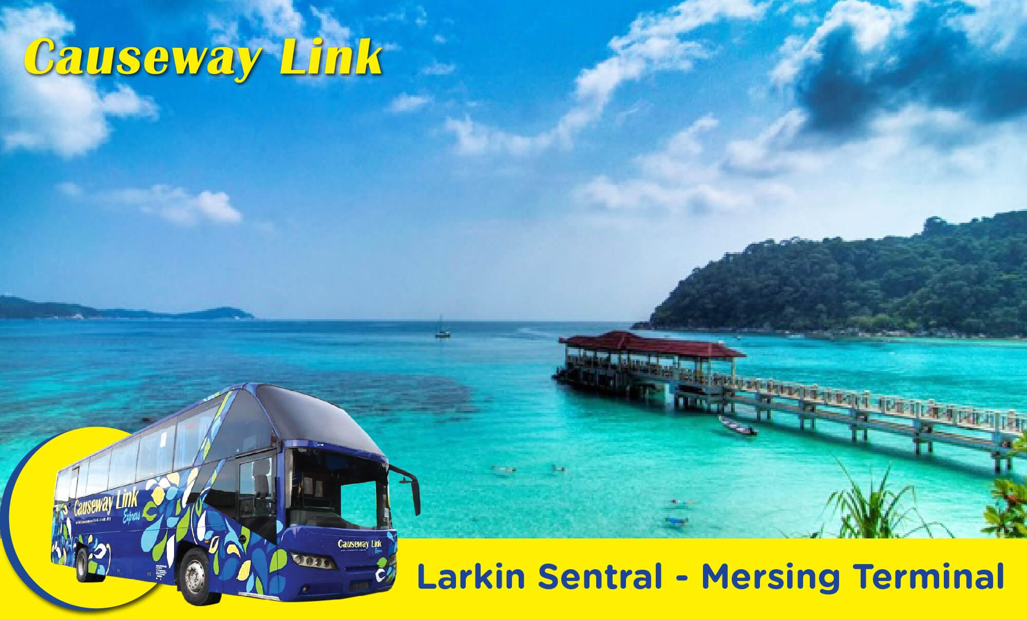 Causeway Link Express Bus between Larkin and Mersing