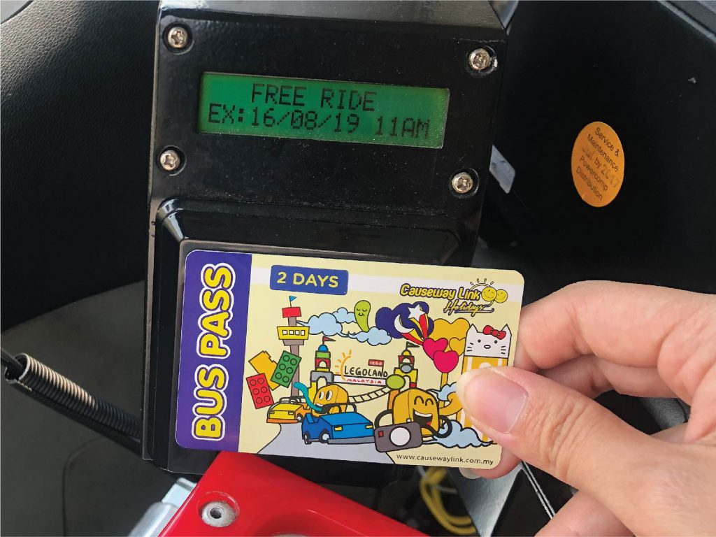 free ride from travel bus pass